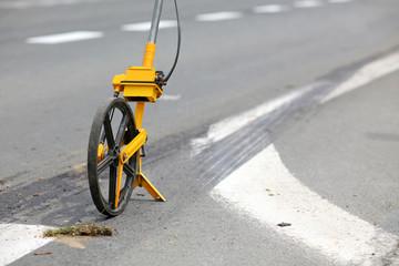 meter measuring wheels