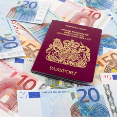 UK Passport and Euros