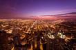 シカゴの夜景