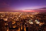 Fototapety シカゴの夜景