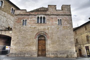 St. Silvestro Church. Bevagna. Umbria