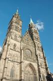 Evangelical Lutheran St.Lorenz Church in Nuremberg,Germany poster
