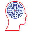 Maze head vector
