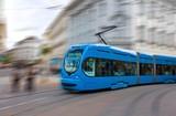 Speeding tram