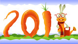 Happy Rabbit and Curly Carrot 2011