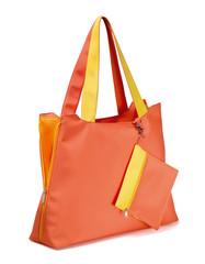 borsa da spiaggia arancione