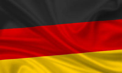 Deutschland Fahne Flagge / Germany flag