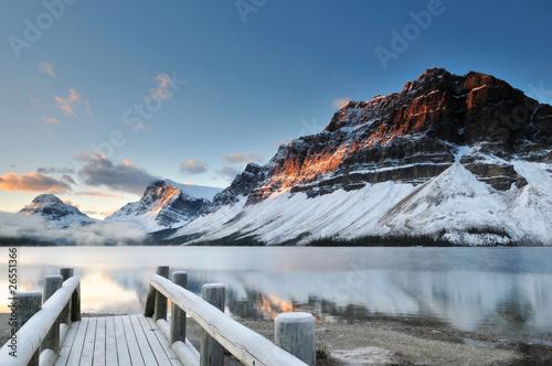 Leinwandbilder,banff,kanada,gletscher,landschaft