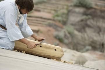 A Young Carpenter