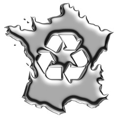 France recyclage de chrome