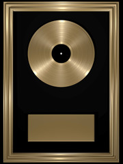 Goldschallplatte