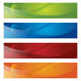 Polotónů a gradient bannery