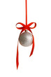 Christmas Ornament - Christmas ball and red bow