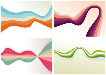 Formes abstraites, vecteur