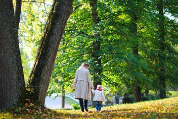 Autumn day in park
