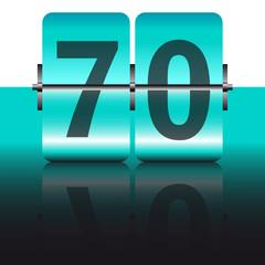tarjeta 70