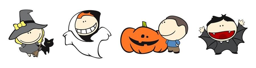 Funny kids #18 - halloween