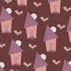 Halloween background pattern