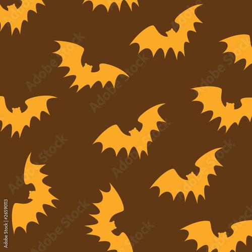 Halloween background pattern. Vector illustration
