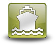 "Yellow 3D Effect Icon ""Ship / Water Transportation"""
