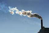 Smokestack Billowing Smoke poster