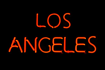 Los Angeles neon sign
