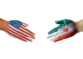 America Iran handshake