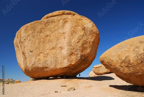 Huge Rock in Erongo Mountains - 26607377