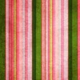 Vintage green and pink shabby colored striped background poster