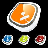 joystick symbol zeichen icon poster