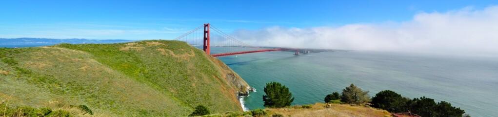 Golden Gate Bridge Panorama