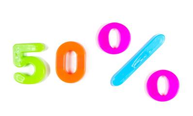 50% written in fridge magnets