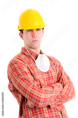 Portrait of worker