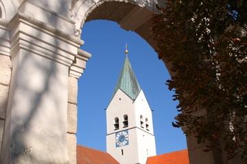Turm des Freisinger Doms