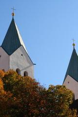 Kirchtürme des Freisinger Doms