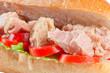Tonno, pomodoro e insalata