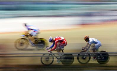 Bicycle velodrome racing 3