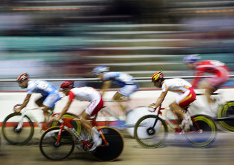 Bicycle velodrome racing 2