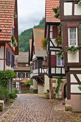 The village of schiltach in the Black Forest, Germany