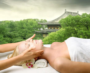 Oriental beauty treatment