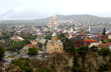 Nice view of Tbilisi, Georgia
