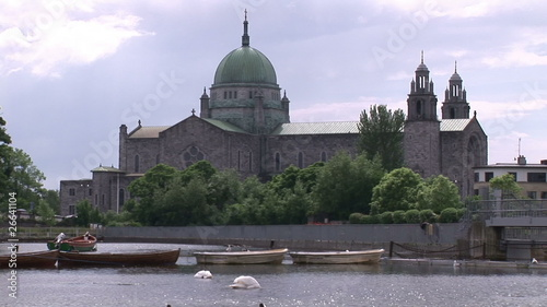 Galway Cathedrale from the river Corrib