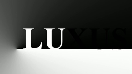 LUXUS black & white
