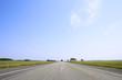 Дорога, уходящая к горизонту