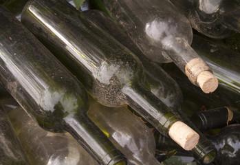 Botellas abandonadas
