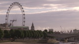 Rear view of London eye