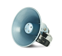 Isolated megaphone