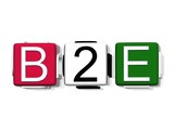 B2E business to employee poster