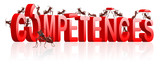 competences building skills knowledge or behavior poster