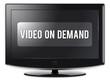 """Flatscreen TV """"Video On Demand"""""""